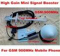 Teléfono móvil mini GSM 900 mhz repetidor de la señal del repetidor, teléfono celular GSM amplificador de señal de refuerzo con 13dbi yagi LCD pantalla