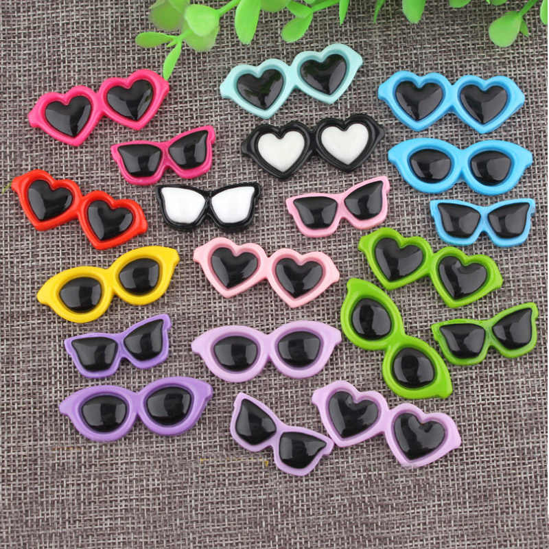 CCINEE Glasses Resin Multiple Styles Diy Resin Accessories DIY Craft Supplies