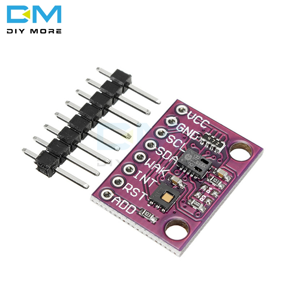 CCS811 HDC1080 CO2 Dióxido De Carbono Sensor de Temperatura E Umidade Módulo Sensor de Cov e Monitorar a qualidade Do Ar Enrolador Diy