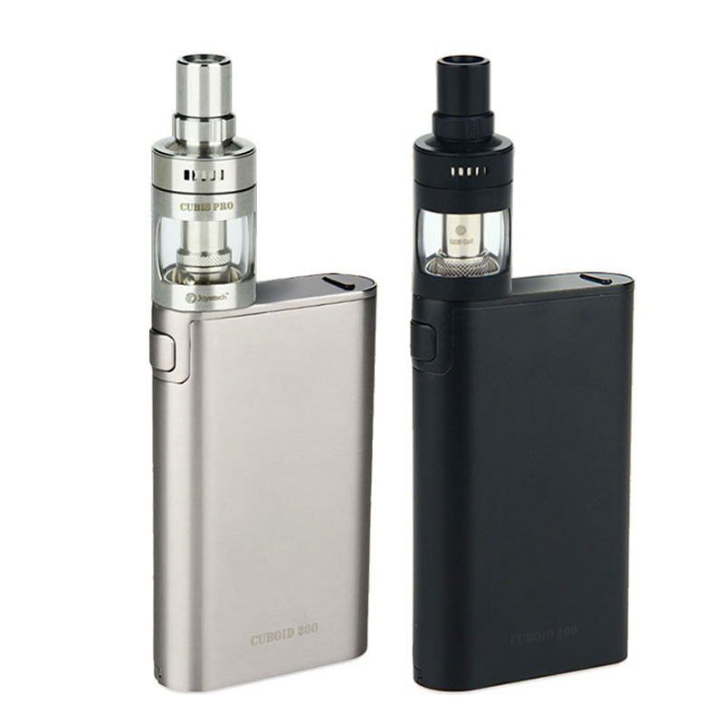 Original Joyetech Cuboid 200W KIT with Joyetech CUBIS Pro Atomizer 4ml w/Notchcoil 0.25ohm Head 200W cuboid TC/VW BOX MOD Vaping joyetech cuboid pro touch screen tc mod page 6