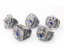 Envío de la gota Para 2001/2003/2004/2014/2016 New England Patriots Campeonato Anillos