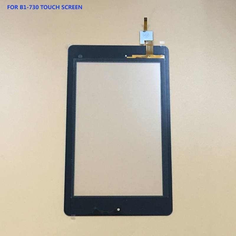 100% Test For Acer Iconia One 7 B1-730 B1-730HD Front Touch Screen Digitizer Panel Glass Sensor for acer iconia one 7 b1 730hd a1402 lcd display panel screen monitor touch screen digitizer sensor glass 100