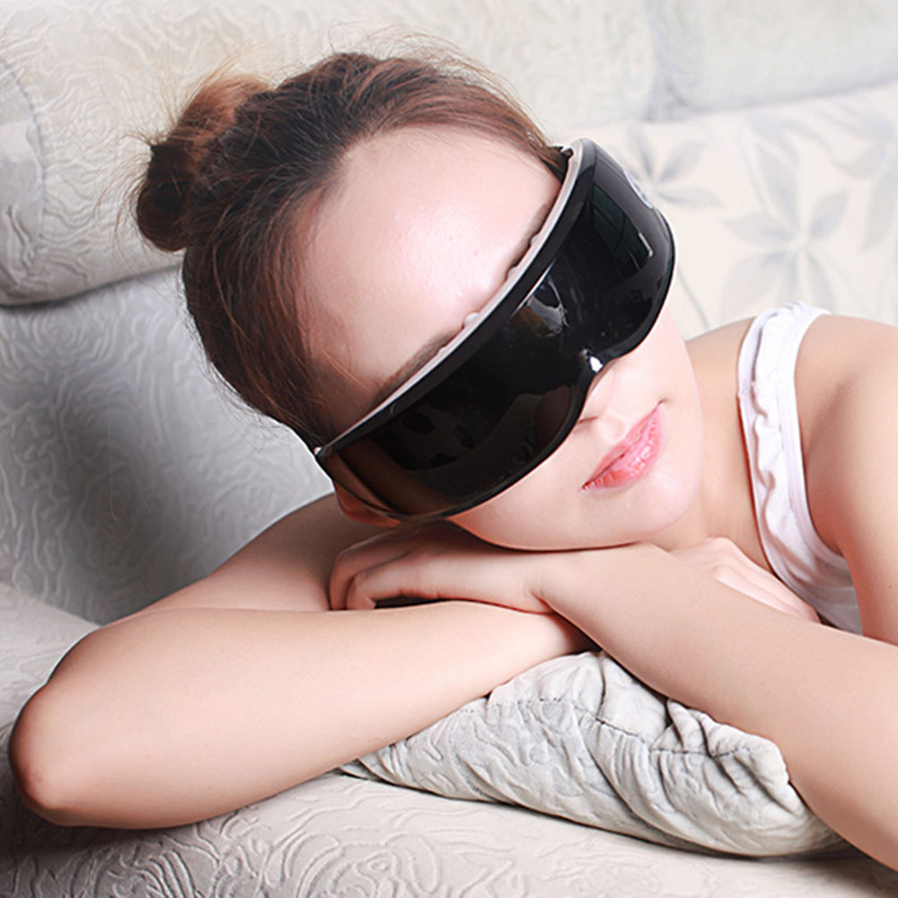 Eye Massager Eye Fatigue Pulse Relief Restore Vision Eye Glasses Eye Massager Electric Vibration Magnetic Therapy Acupuncture(China)