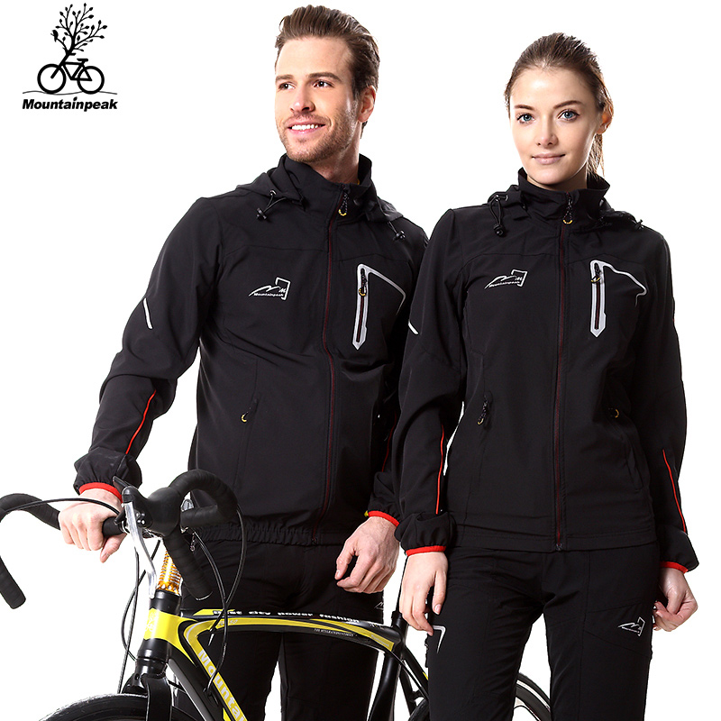 Mountainpeak 2017 lente en zomer Outdoor Riding Windbreaker Suit en Windbreaker Jersey met lange mouwen Huidjas