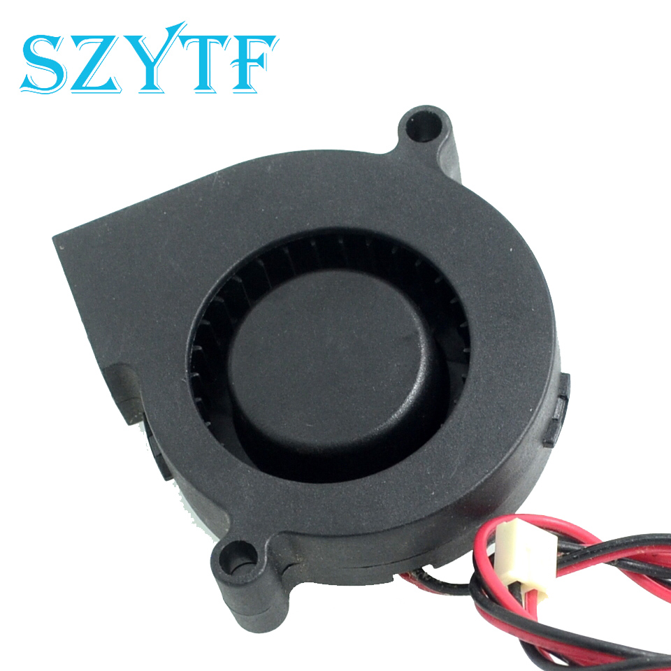 SZYTF  Free Shipping SF5015SL DC 12V 0.06A Server Cooling Fan Server Centrifugal Blower Fan 2-wire 50x50x15mm 50mmx15mm dc 12v 0 14a 2 pin computer pc sleeve bearing blower cooling fan 5015 r179t drop shipping