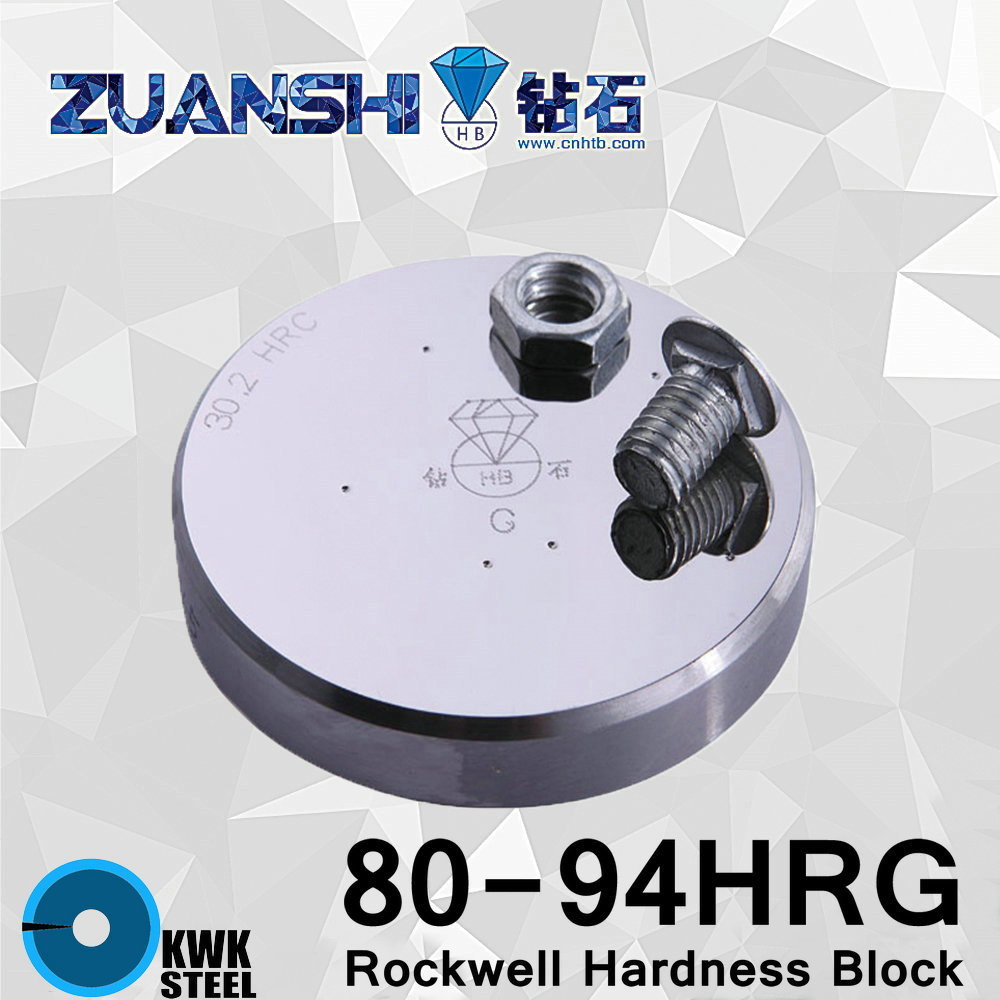 Rockwell Hardness 80-94HRG Metallic Rockwell HRG Hardness Reference Blocks Hardness Test Standard Block Hardness TesterRockwell Hardness 80-94HRG Metallic Rockwell HRG Hardness Reference Blocks Hardness Test Standard Block Hardness Tester