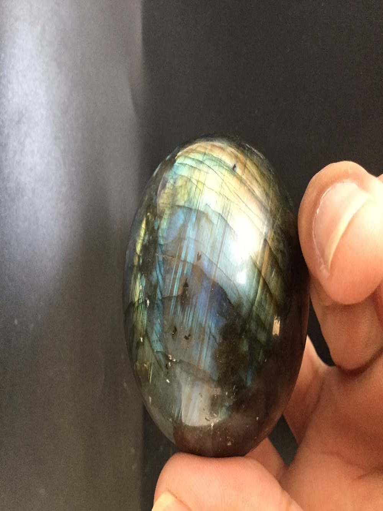 55mm natürliche labrador ball natürliche blau mondlicht gefüllt mit energie geschenke