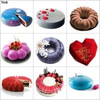 3D силиконовая форма для украшения торта инструмент мусс французский десерт силиконовая форма для выпечки торта Форма для торта Декор инстр...