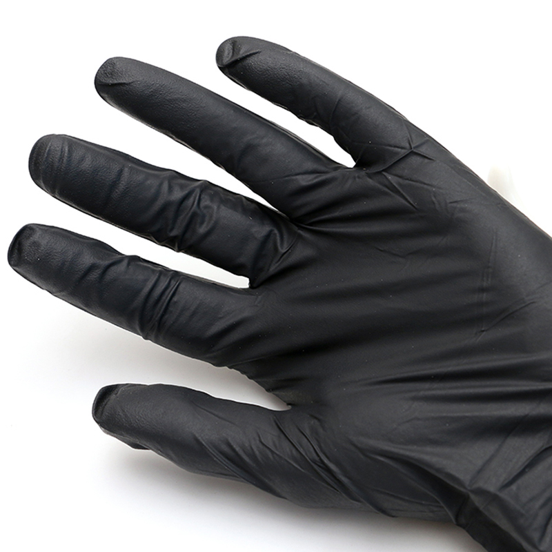100 Pcs High Quality S/M/L/XL Available Size Tattoo Accessories Nitrile Tattoo Gloves Black  Disposable Tattoo Latex Gloves