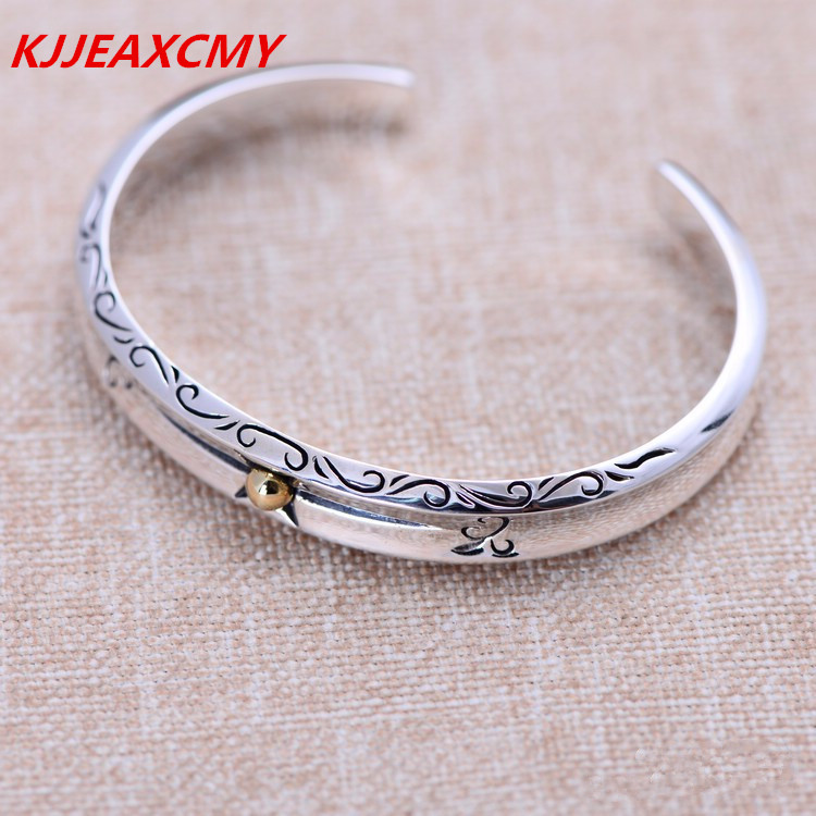 KJJEAXCMY 925 sterling silver jewelry fashion female models atmospheric Glory Star Bracelet free shipping