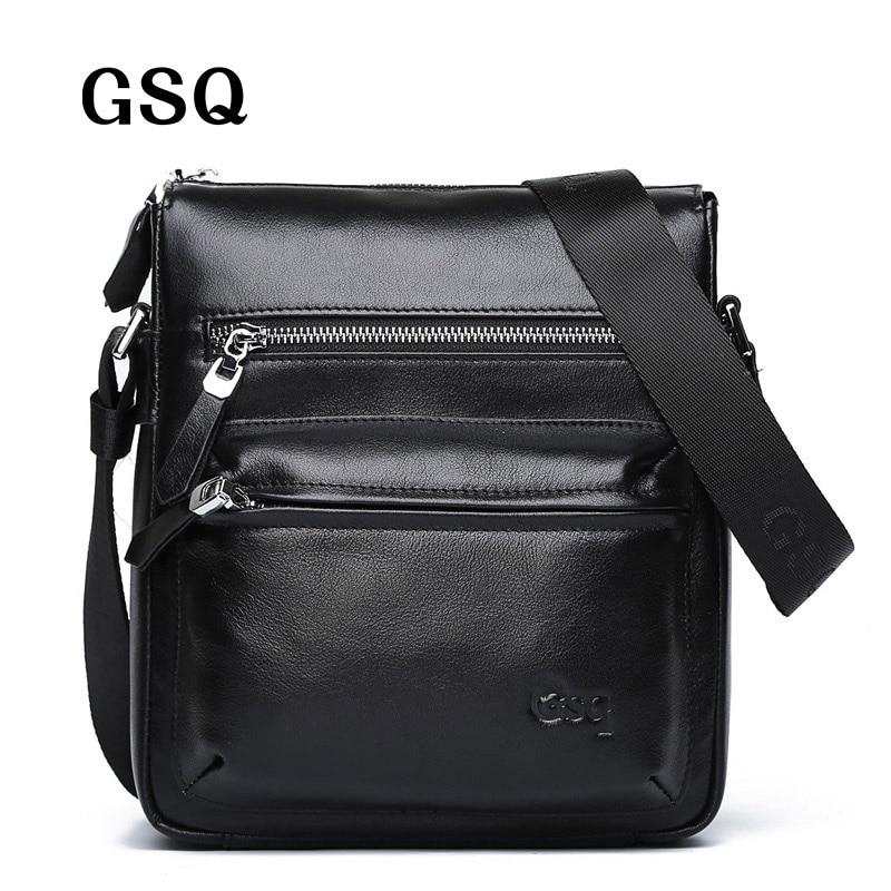 gsq genuíno homensageiro bolsa de Exterior : Saco Contínuo