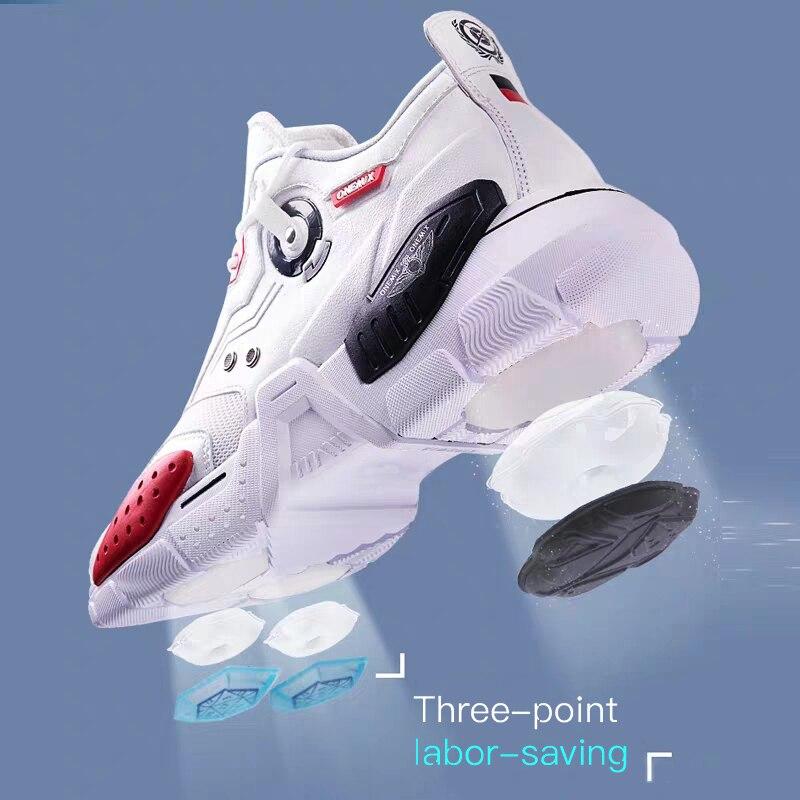 Image 5 - ONEMIX 2020 Men Running Shoes Technology Style Comfortable  Damping Fashion Unisex Sport Tennis Dad Shoes Men Jogging  SneakersRunning Shoes