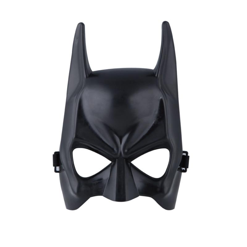 Buy fashion halloween black mask for Batman face mask template