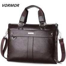 VORMOR 2018 мужской повседневный портфель деловая сумка через плечо кожаная сумка-мессенджер сумка для ноутбука сумка мужская дорожная сумка