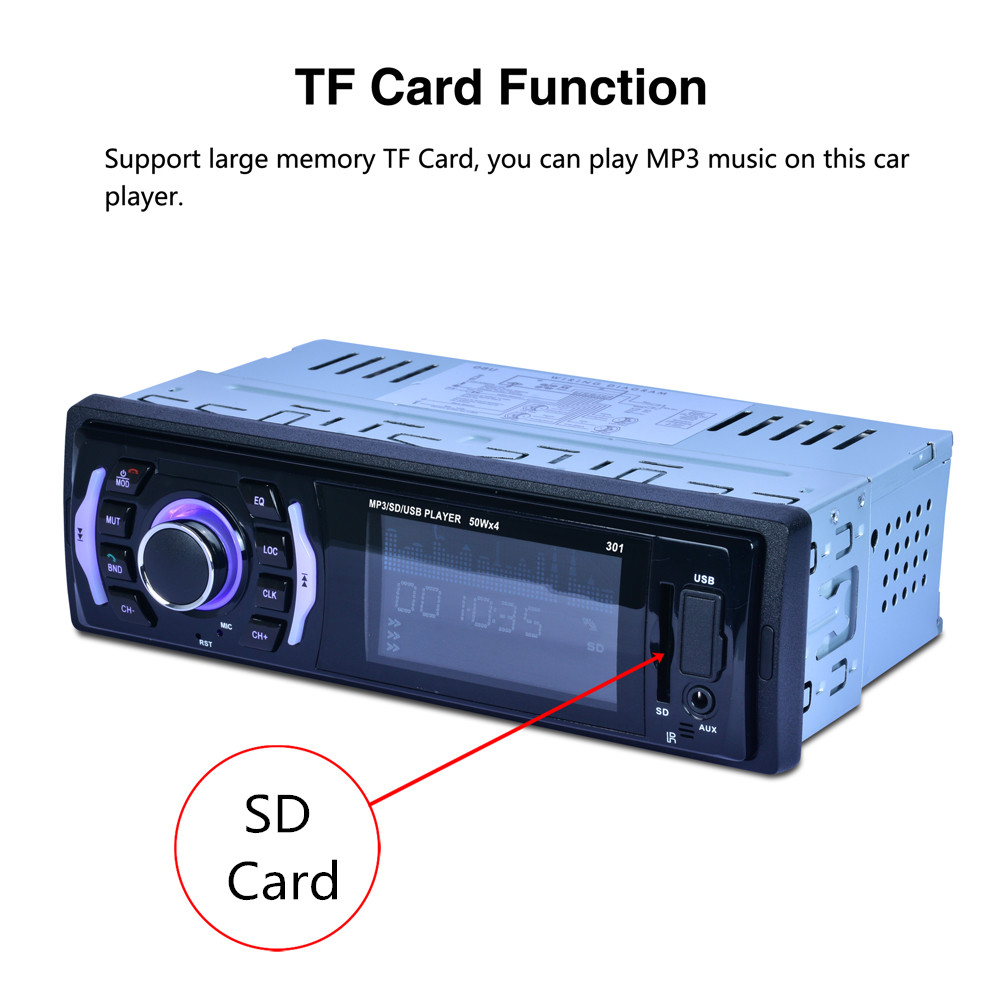Mobil Berbelanja MP3 Input/SD/USB/MP3