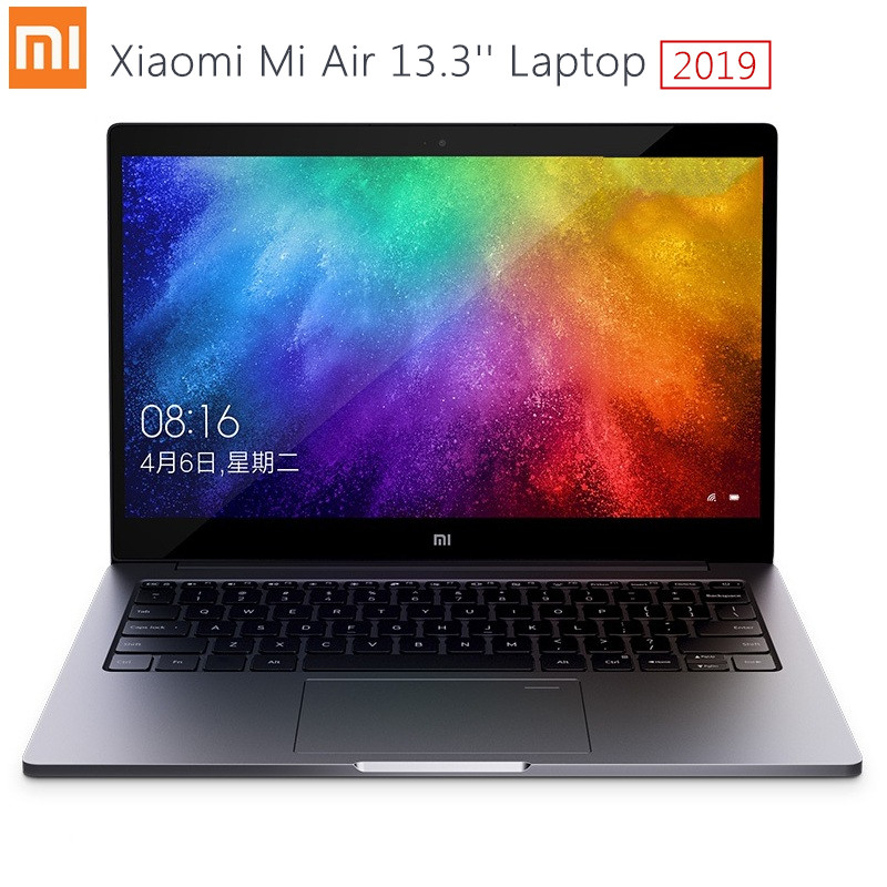 2019 Xiaomi Mi Air Laptop 13.3 Inch Windows 10 Intel Core I5-8250U / I7-8550U NVIDIA GeForce MX250 8GB RAM 256GB SSD Fingerprint