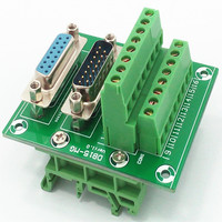 D SUB DB15 Male Female Header Breakout Board Terminal Block Connector