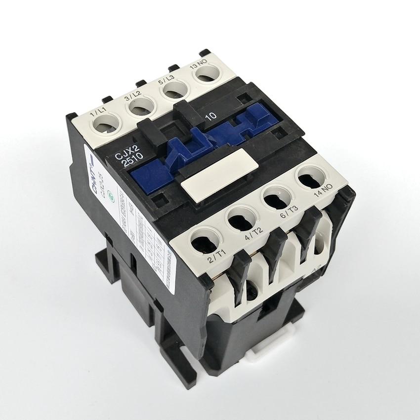 1pcs NEW CHINT AC Contactor CJX2-2510 380V