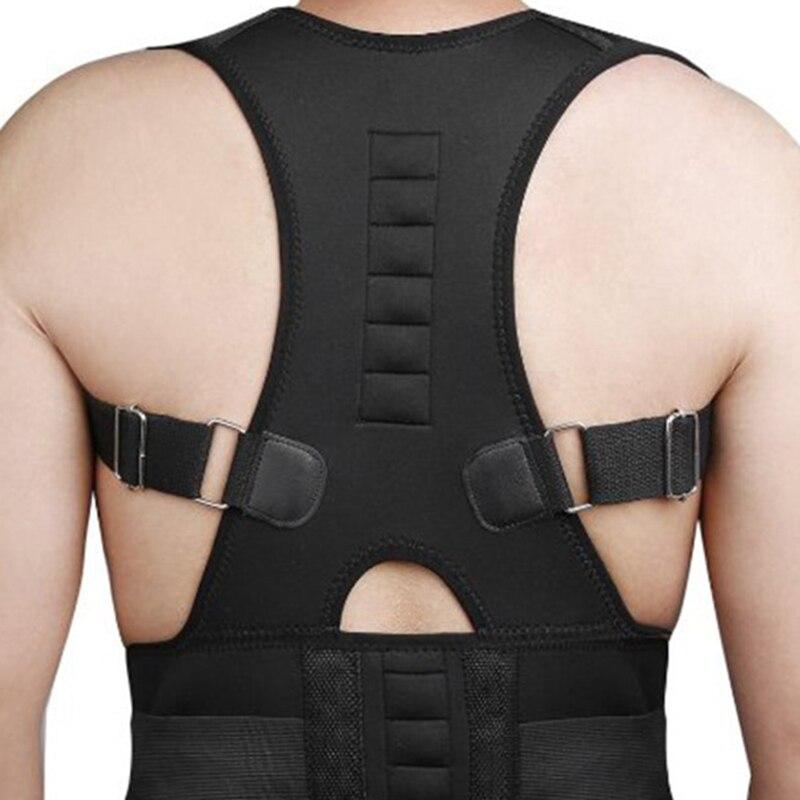 Posture Corrector Support Magnetic Back Shoulder Brace Belt For Men Women Body Shaping Sitting Position Correction Belt
