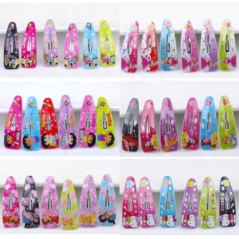 bb barrettes kitty clip children Hair accessory accessories wholesale Hair Girl Kids Satin Hairpin Hair Decorations 36pcs/lot new arrival ladies barrettes colorful dots cloth hair clips bb hairpin for girls women hair accessories 8pcs lot