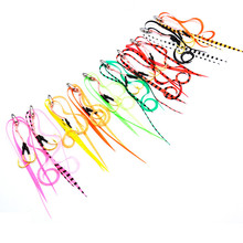 9# Hook 10/50pcs Silicone Skirt Assist hook jigging sea fishing Jig head super strong