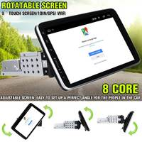 Rotatable Car Multimedia Player 10.2 1+16G 8 Core Stereo for Android 8.1 with 360 Degree Up Down Screen GPS WiFi Radio Player