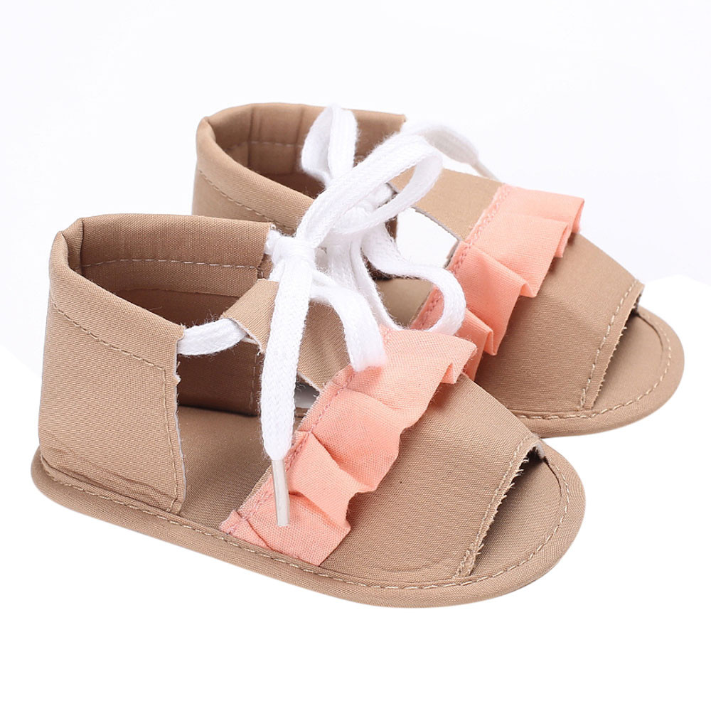 2017 Autumn New children sandals shoes fashion causal flat with baby sandals summer flower soft bottom Kids girls sandal shoes