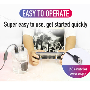 Image 5 - Sovawin telefon komórkowy wentylator chłodzący smartfon Pubg kontroler Gamepad chłodnicy w wody w obiegu wentylator chłodzący etui na iPhone 7P XR