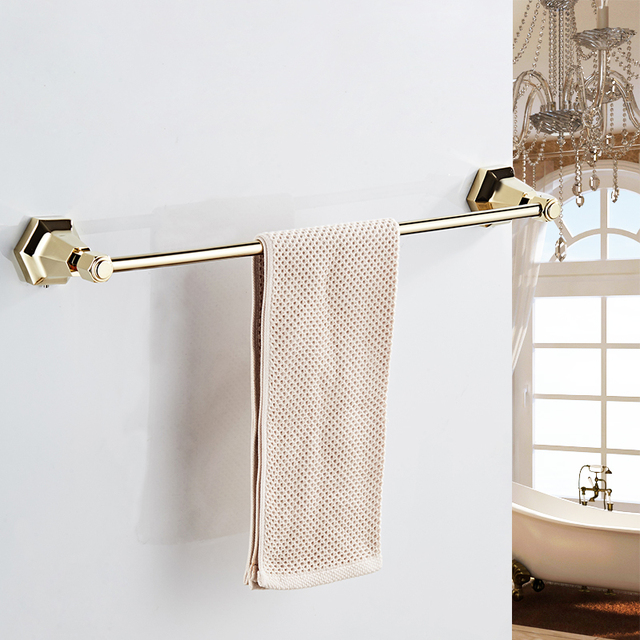 Toalleros individuales de Color negro soporte de toalla montado en la pared  en toalleros colgador de 56216d960374
