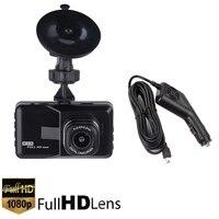 Car 3.0 Inch Monitor Vehicle 1080P Car Dashboard DVR Dual Lens Camera Video Recorder Dash Cam G Sensor GPS Cycle Recording DVR