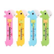 Жираф cutter письма маленький резки прекрасный box нож бумаги ручка для