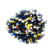 500 ชิ้น Mixed Auto Fastener Car Bumper Clips Retainer Fastener Rivet แผงประตู Fender Liner Universal Fit สำหรับทั้งหมดร(China)