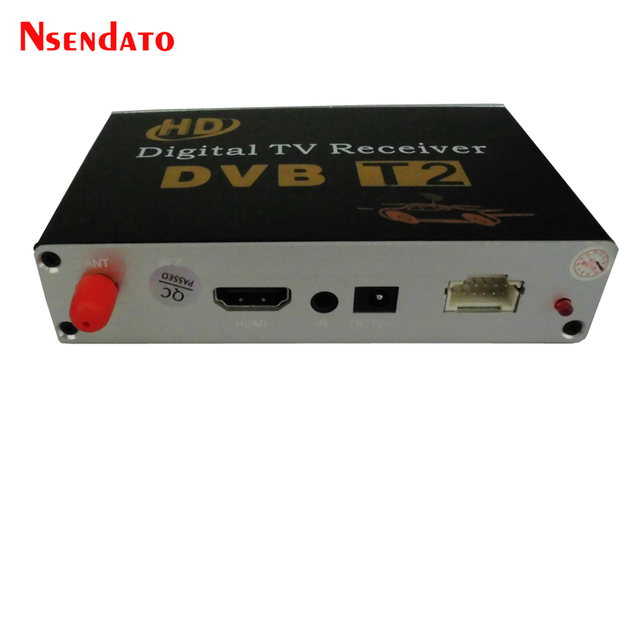 DVB-T2 de voiture numérique dvbt2 récepteur de télévision Mobile DVB T2 Tuner de télévision avec antenne DVB T2 Tuners de télévision bâton Mpeg4 pour la russie Europe