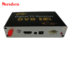 Digital Car DVB-T2 dvbt2 TV Receiver Mobile DVB T2 TV Tuner With Antenna DVB T2 TV Tuners Stick Mpeg4 For Russia Europe