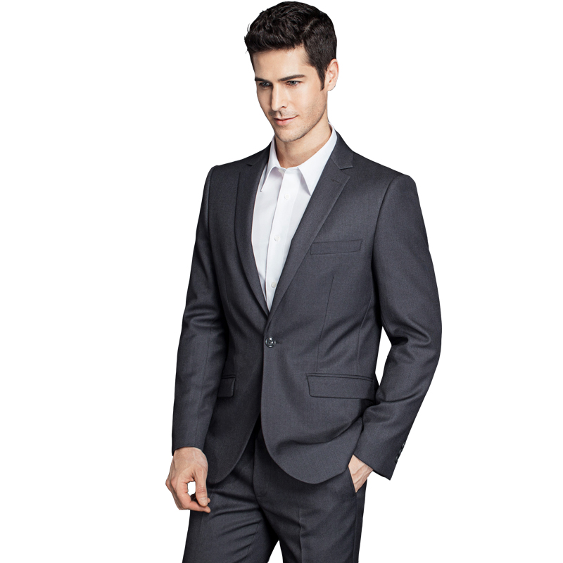 2019 Mens Slim Fit Wedding Suits Men Luxury Classic Tuxedo Suits Mens Business Formal Grooming Suits 2 Pieces Jacket Pants