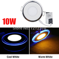 10W AC 85-265V Acrylic LED Recessed Downlight Panel Ceiling Wall Light Cool White Warm White For Home Decoration