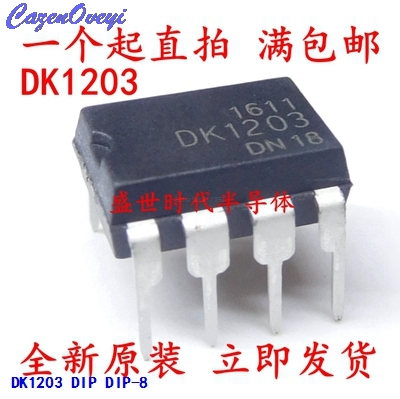 10pcs/lot DK1203 Line Instead Of THX203 DIP8 Management IC DK New Original In Stock