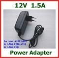 12 v 1.5a carregador de bateria para tablet acer iconia tab w3 w3-810 switch10 A100 A500 A501 A200 A210 A211 para lenovo Miix 10 Miix2 10
