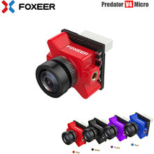 Foxeer Predator V4 Micro FPV Camera 16:9/4:3 PAL/NTSC switchable Super WDR OSD 4ms Latency Upgraded Foxeer Predator V3