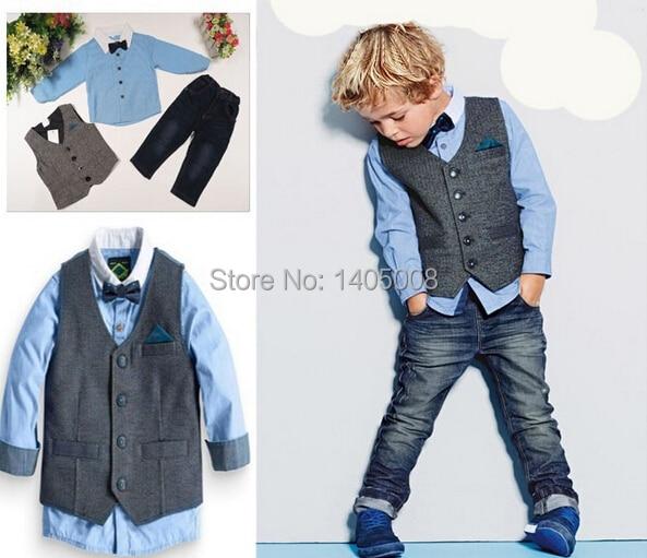 HTB1sDLMJpXXXXcMXXXXq6xXFXXXJ - Boy's Stylish Clothes for 2018 - 3 pc Combo Sets - Coat/Vest, Shirt/Pants, Belt Options