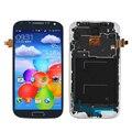 Синий Только Для Samsung Galaxy S4 i9505 ЖК-Дисплей С Сенсорным Экраном Дигитайзер + Рамка Ассамблеи Замены Бесплатная Доставка + Отслеживания Количество