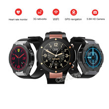 H2 Smart Watch MTK6580 1.39inch 400*400 GPS Wifi 3G Heart Rate Monitor 1GB 16GB Watch 5MP Camera Smartwatch  For Android