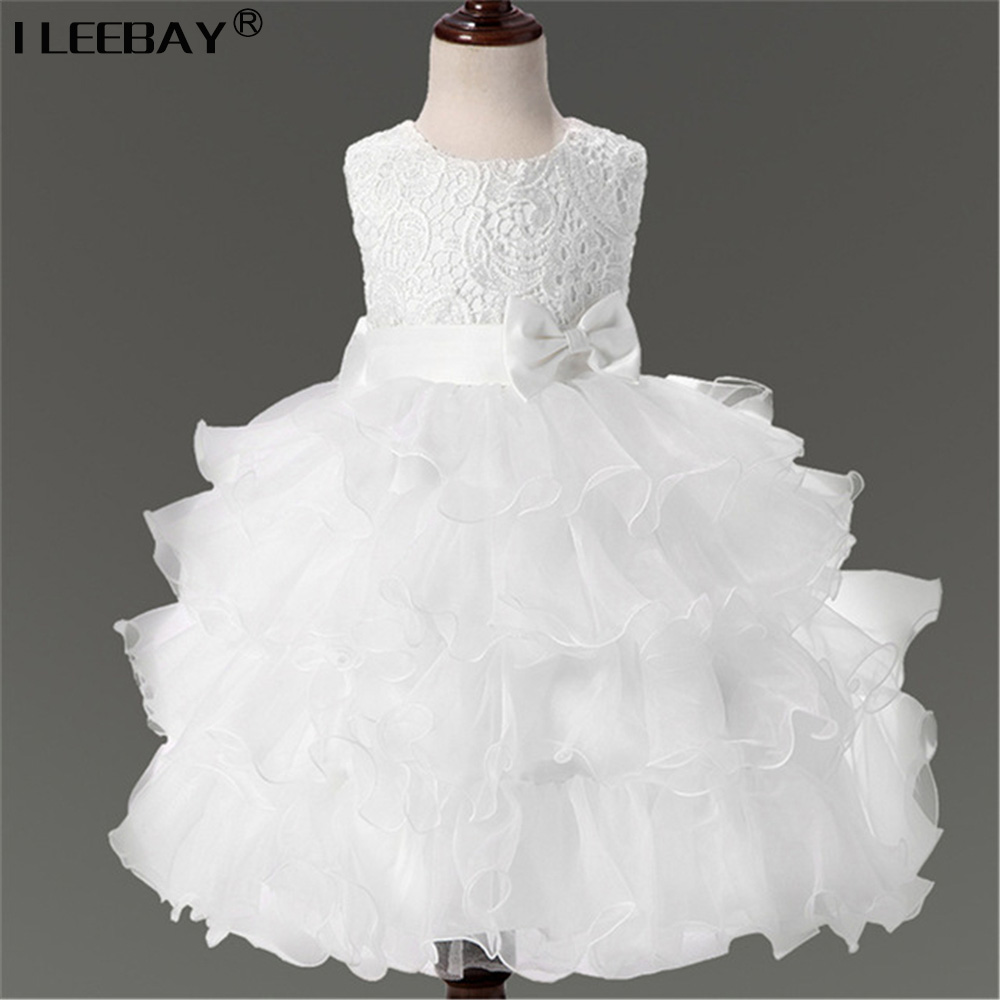 Kids Dresses for Girls New Design Flower Girl Princess Dresses For Weddings Child Birthday Party Gown Girls Evening Costume 2-8Y summer flower lace kids party dresses for weddings children s princess girl evening prom toddler girl clothes for 4 6 8 10 12 y