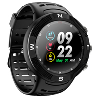 2018 New IP68 Waterproof GPS Smart Watch F18 Color Screen Big Battery Hear Rate Monitor Men Women Sport Smartwatch