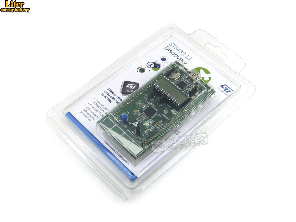 100% Original STM32 Development Board STm32 L1 STM32 Discovery Kit STM32L152C-DISCO Base on STM32L152RBT6 Free Shiping(China)
