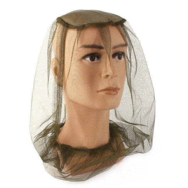 Verano Mosquito Net sombrero mujer Anti insectos malla Protector de cara de  la cabeza viaje al 9f98fcfe59e
