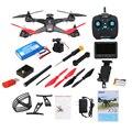 Mais novo original jjrc jjpro x1g 2.4g 4ch 6-axis 5.8g fpv rc quadcopter com motor brushless rtf zangão câmera zangão