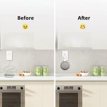 Outlet Wall Mount Hanger Stand for Google Home Mini Voice Assistant US Plug Home Kitchen Bathroom Bedroom Speaker Holder