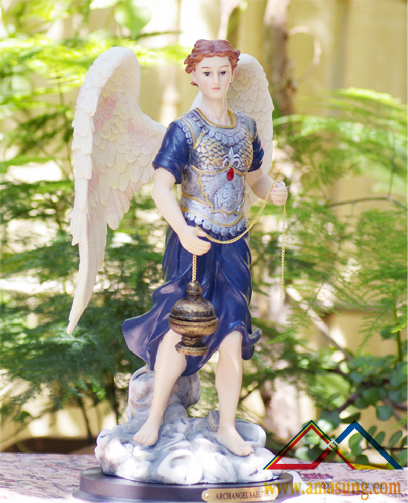 12 Inch Archangel Sealtiel Holy Figurine Religious Decoration Decor Decorating Decor Interiors Decor Decorationdecorative Wall Decor Aliexpress
