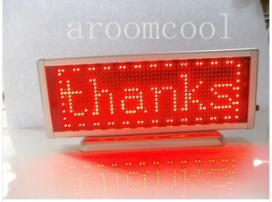 16x48 Display Programmable Message moving scrolling LED Name Badge Tag Red навигатор prology imap 5700 навител 5 480x272 microsd черный